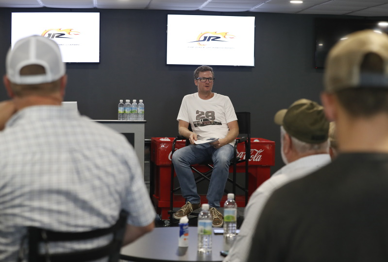 Riding Right Seat with Dale Earnhardt Jr.