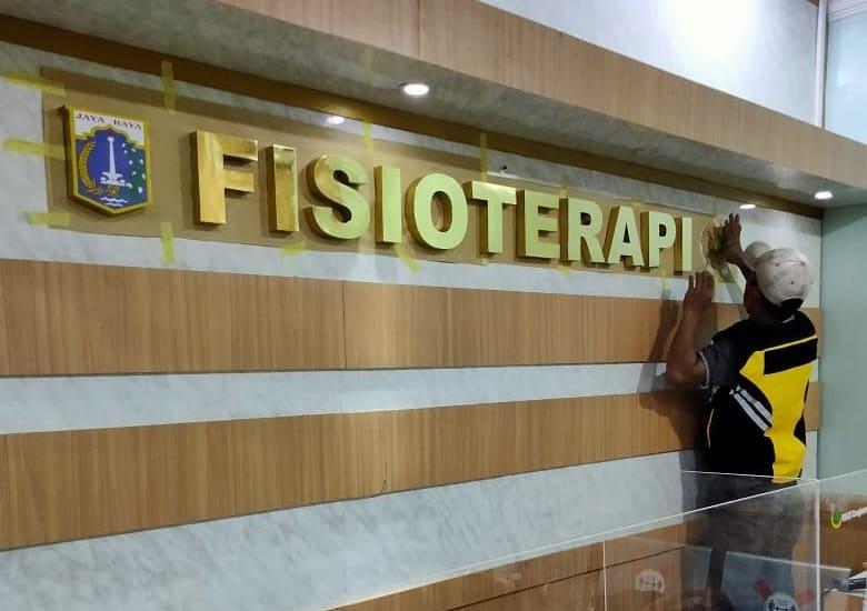 √ Promo Pembuatan Huruf Timbul Stainless di Bogor Murah