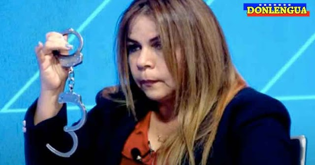 LOCA DE PERINOLA | Iris Varela compró unas esposas para detener a Juan Guaidó