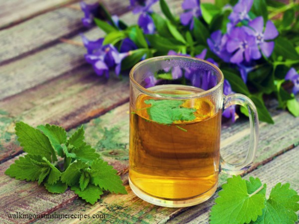 Tea with Mint from Walking on Sunshine Recipes