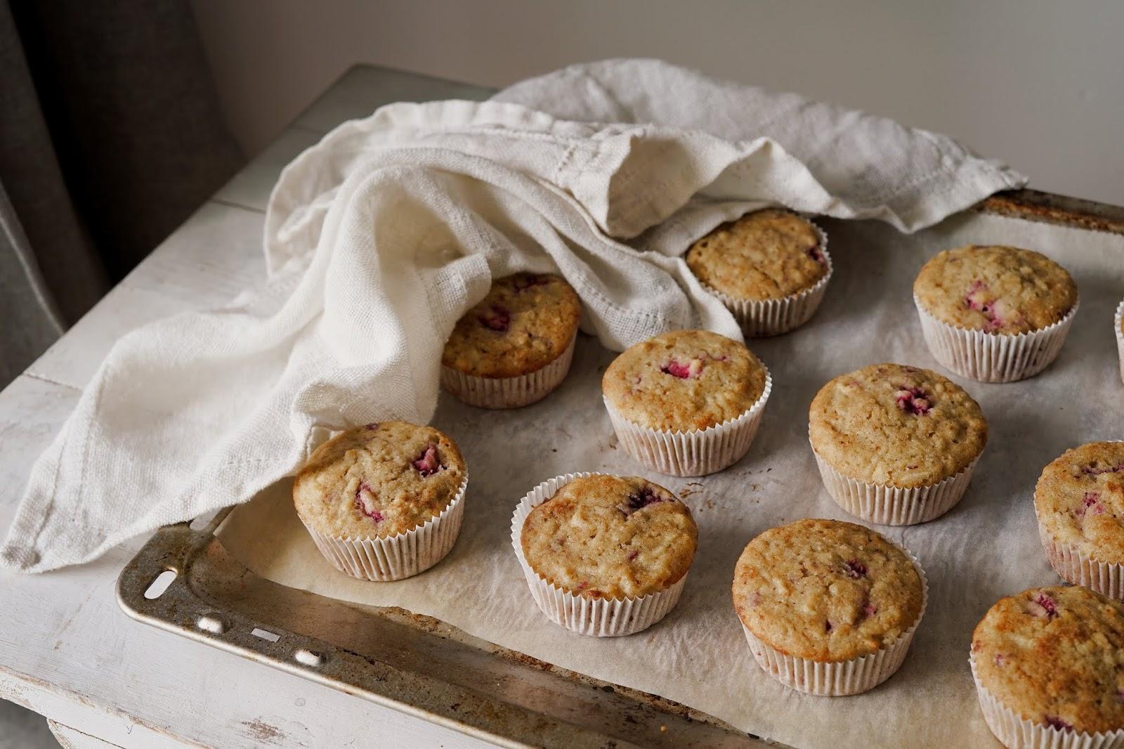 Muffiny bezglutenowe z jabłkami