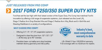 Pro Comp Lift Kit