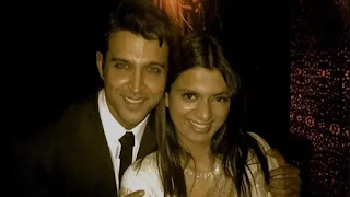 Rangoli chandel shares picture with hrithik roshan