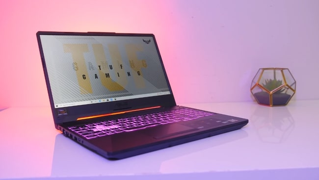 Asus TUF A15 FAF06II entry-level gaming laptop under ₹80,000 budget