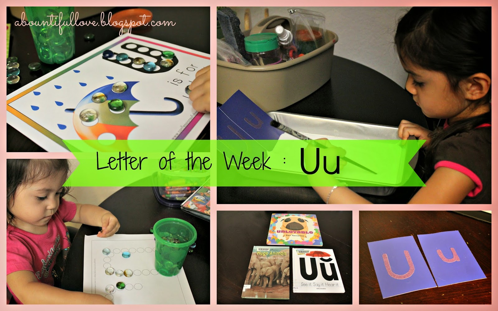 Letter Of The Week Uu