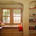 Không gian nghỉ ngơi rộng rãi trong ngôi nhà chật hẹp