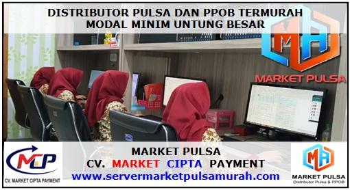 Distributor Pulsa dan PPOB Termurah