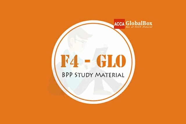 [2020] | F4 - (LW) | GLOBAL | Corporate and Business Law | BPP | STUDY TEXT and EXAM KIT