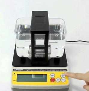 kit de teste de ouro por gravidade específica