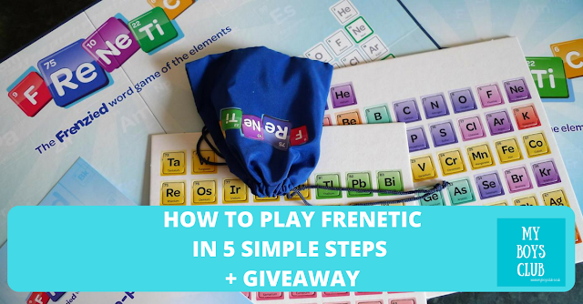 How to play board game Frenetic