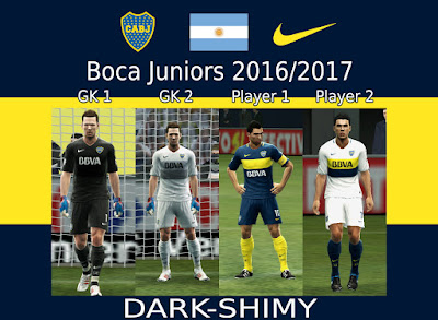 Boca Juniors 2016/2017 update 2