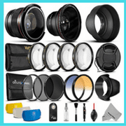 Nikon D5100 D5200 D5300 D5500 Accessories Bundle Accessory kit