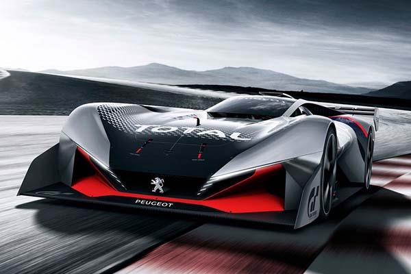 Peugeot L750 R Hybrid Sports Concept