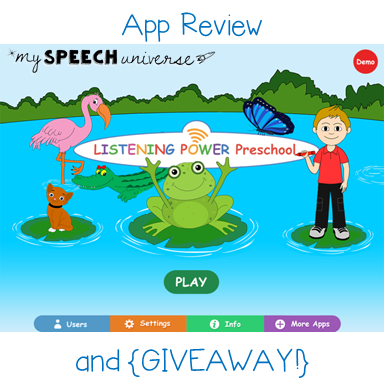 Listening Power Preschool: Review and {GIVEAWAY} | <!--Can't