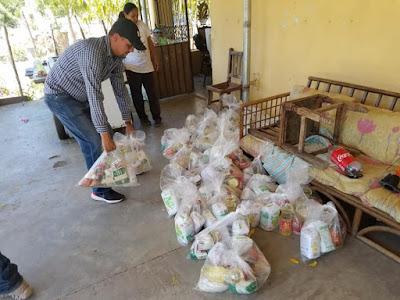 """Continúa distribución del programa alimentario """"Gobierno Solidario"""" en Álamos"""