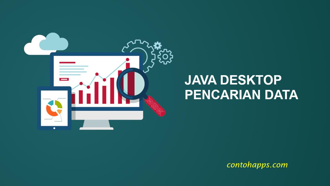 Java desktop pencarian data