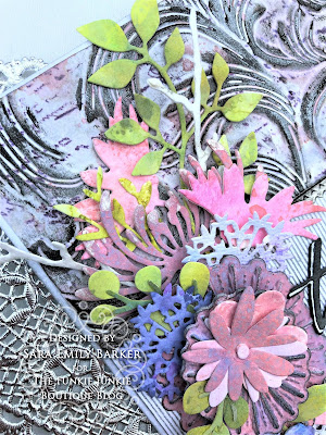Sara Emily Barker https://sarascloset1.blogspot.com/2019/07/togethera-metallic-wedding-card-for.html Tim HOltz 3D Embossed Wedding Card 3