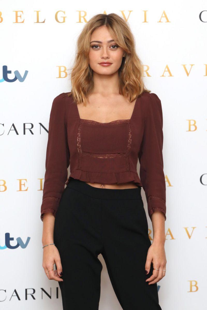 Ella Purnell Clicks at Belgravia Photocall in London  17 Feb-2020