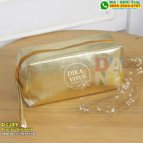 Pouch Vinyl Gold