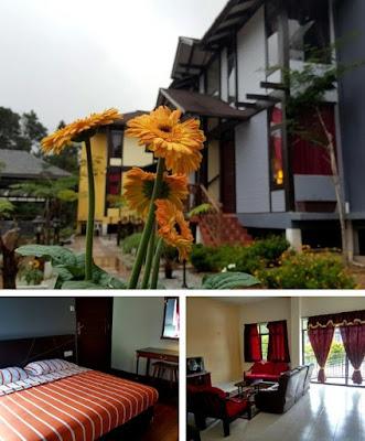 Casa Loma Hotel Cameron Highland bilik