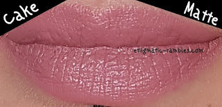 Swatch-Review-Revolution-X-Soph-Nude-Lipsticks-Syrup-Fudge-Cake