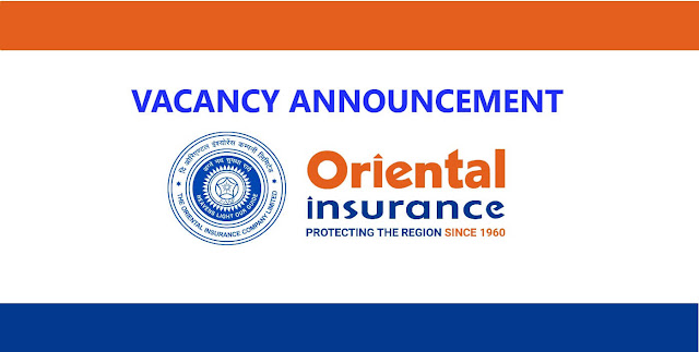 Jobs at Oriental Insurance Company Limited