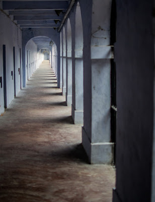 Prison cell, cellular jail, andaman island, port blair
