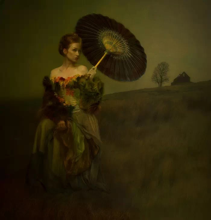 Между живописью и фотографией. Peter Kemp