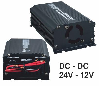 Convertidor reductor DC/DC de 24v a 12v