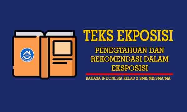 Pengetahuan dan Rekomendasi dalam Teks Eksposisi