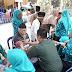 Benter Kodim 0732 Sleman Berikan Pelayanan Kesehatan Lamsia