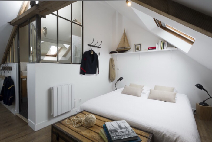 Un mini loft in stile marinaro blog di arredamento e for Arredamento stile marinaro