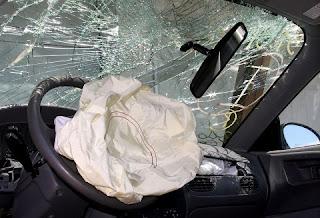 Autó ablak biztonsági üveg törés