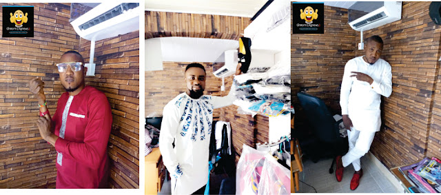 We will Sponsor All Your Customs for All Your Occasions – Dorlaz Fashion tell Ghanaian Actor/ Presenter Cesnoris Appiah.