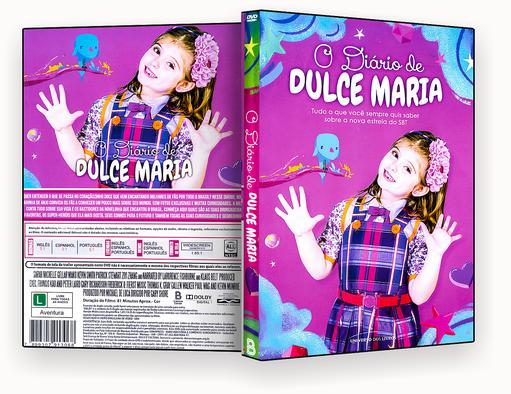CARINHA DE ANJO O DIÁRIO DE DULCE MARIA – ISO – CAPA DVD