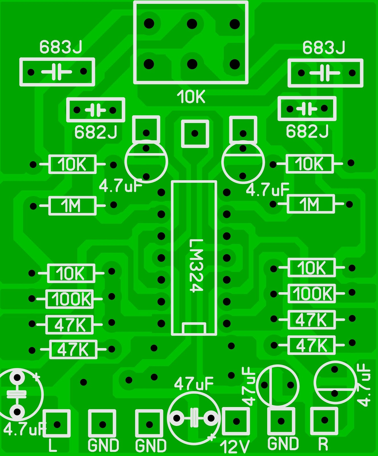 Lm324 Subwoofer Circuit Diagram - Wiring Diagram Com