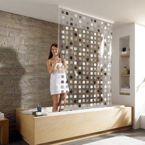 Alternative To Shower Curtain Curtains Drapes