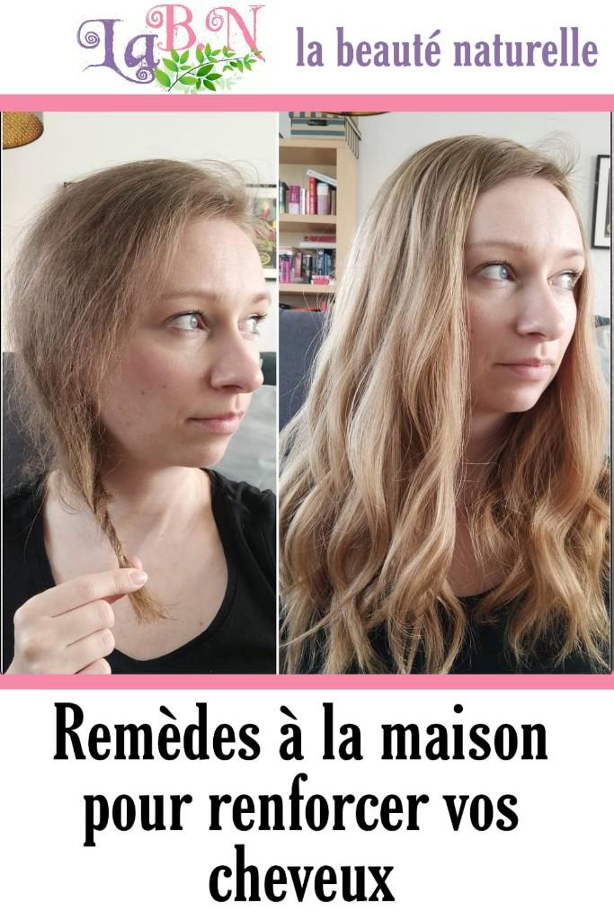 Remèdes à la maison pour renforcer vos cheveux