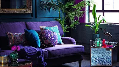 The most beautiful colors of home decoration