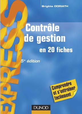 Télécharger Livre Gratuit Contrôle de gestion en 20 fiches pdf