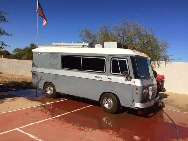Luxury Camper Van >> Used RVs Clark Cortez Motorhome 1966 For Sale by Owner