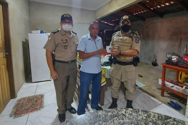 9° Batalhão da PM realiza visitas à militares da reserva em Araguatins e Esperantina