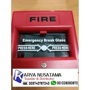 Jual Paket Instalasi Alarm Break Glass, Kabel Dan Round Bell di Padang