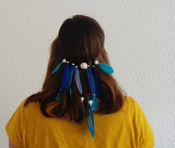 DIY : couronnes de plumes bohème
