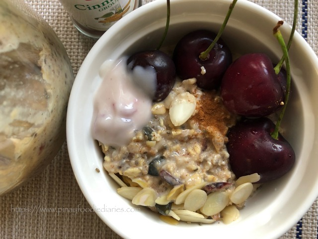 Cherry Overnight Oats