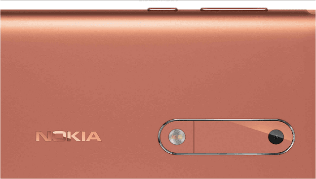 Nokia 5 Copper Back