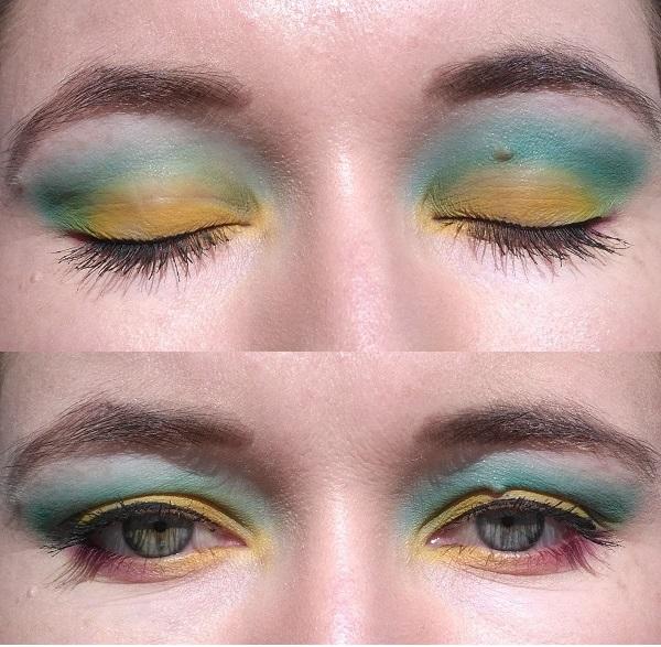grün gelb Orangecosmetics