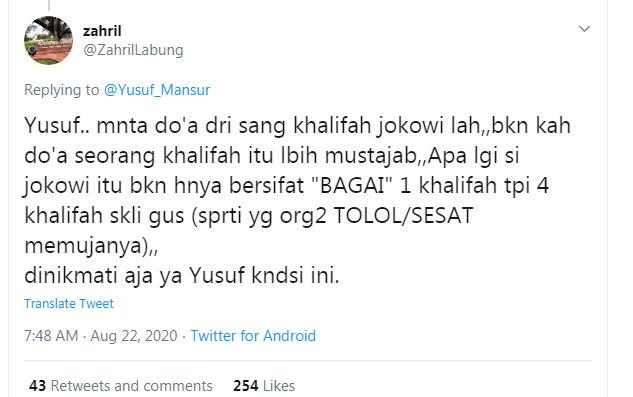 Ustadz Yusuf Mansur Sakit Terbaring Tak Berdaya Sejak Jumat, Sakit Apa?