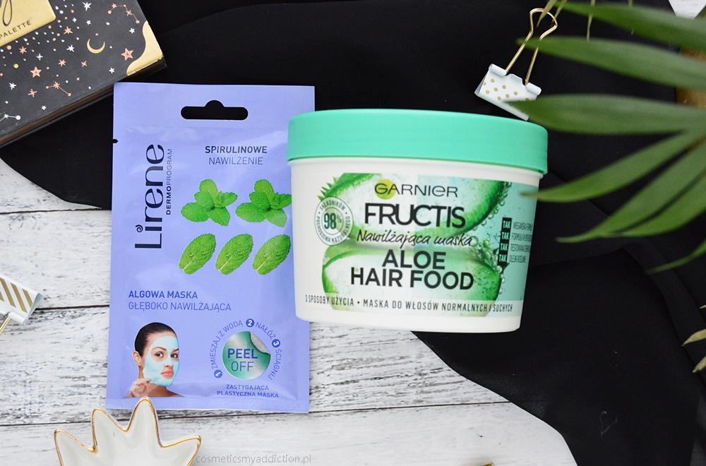 maska do włosów Garnier z serii Hair Food aloesowa