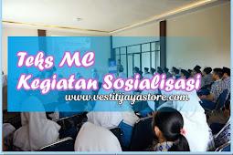 Teks MC Kegiatan Sosialisasi  (Terbaru, Lengkap dan Terbaik )